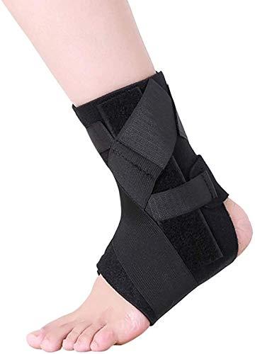 WANGPP Tobillera Ajustable, compresión Tobilleras Wrap Perfecto for la Post-cirugía de recuperación, torceduras, Artritis Rehabilitación de Lesiones y Prevención de Lesiones 4.29 (Size : Large-40+)