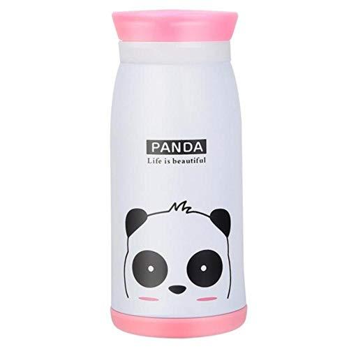 350 ml roestvrijstalen kopjeskolf leuke koffie thee melk reisbeker kinderen student thermomok fles thermocup geschenken, wit, China
