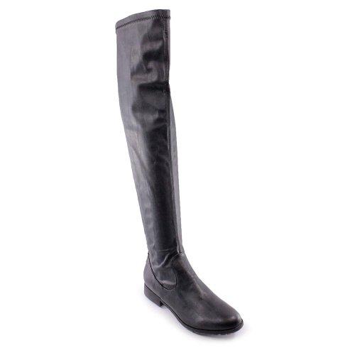 Kathy Van Zeeland Women's Gia Knee Boot (6.5, Black)