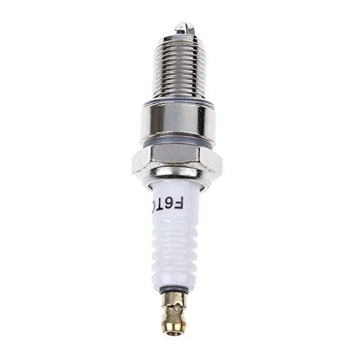 ZÜNDKERZE F6TC Gute Leistung bewertet Hot Spark Plug Tester Generatorleistung (Color : Silver)