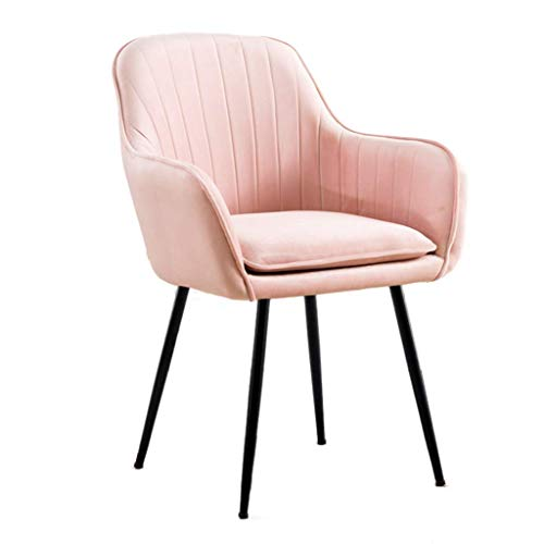 KMMK Bar, cafetería, silla de restaurante, sillón vintage, patas de metal con respaldo suave y cómodo, sala de estar de restaurante, dormitorio, sillón de café, oficina,re