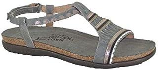 NAOT Footwear Women's Odelia Fashion Sandals, Grey (Vintage Slate Combo), 40 EU
