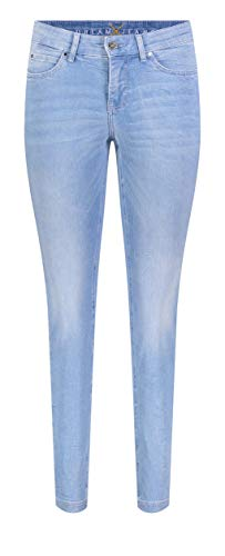 MAC Jeans Damen Dream Skinny Jeans, Blau (Baby Blue Wash D489), W38/L28
