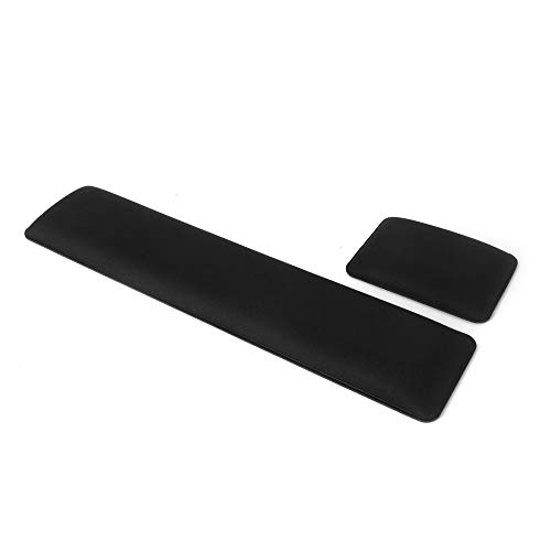 SenseAGE Comfortable Keyboard and Mouse Wrist Rest, Ergonomic Design with Durable Material, Soft Cushion Support for Computer, Laptop, MacBook, Lightweight for Home and Office, Relieve Typing Pain, M