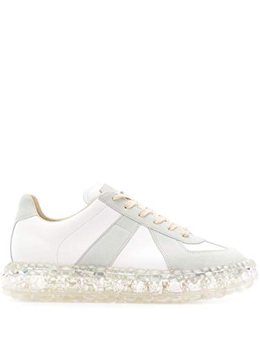 Maison Margiela Luxury Fashion Uomo S37WS0503P1895101 Bianco Pelle Sneakers | Primavera-Estate 20