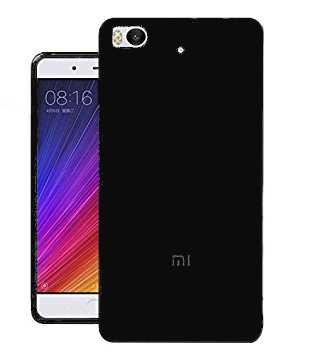 Todobarato24h Funda TPU Lisa Negra Compatible con Xiaomi Mi 5S