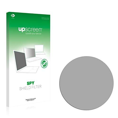 upscreen Filtre de Confidentialité Compatible avec Montres (Circulaire, Diamètre: 33.5 mm) Protection Ecran Anti-Espion, Privacy Filter Anti-Regard