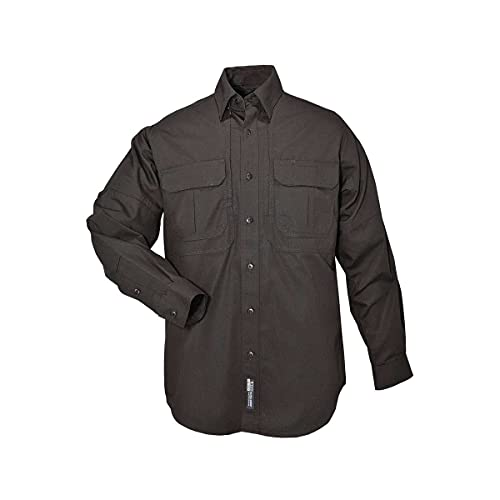 5.11 Tactical Chemise Tactical Coton Manques Longues Homme, Khaki, FR : M (Taille Fabricant : M)