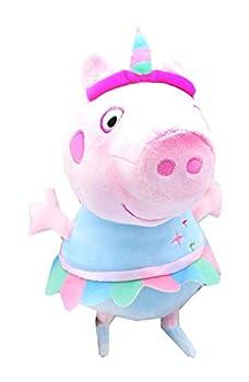 EONE Peppa Pig Unicorn Plush 13.5  Plush