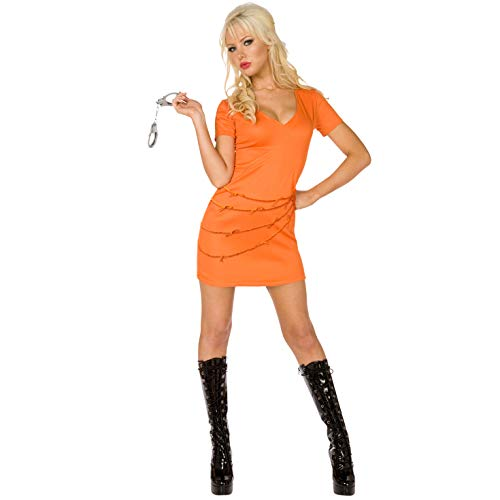 Morph OMPAL5631S Kostüm, Damen, Orange, Größe S