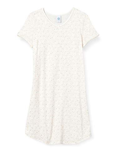 Sanetta Mädchen beige Nachthemd, White Pebble, 152