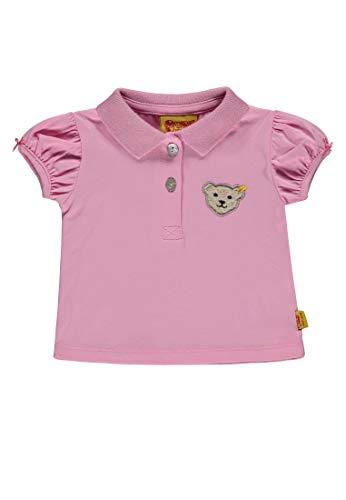 Steiff Steiff Baby-Mädchen 1/4 Arm Poloshirt, Pink (Prism Pink|Rose 2160), 80