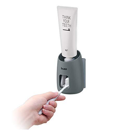 Andiker Automatic Squeezer - Dispensador de pasta de dientes para niños y adultos (gris)