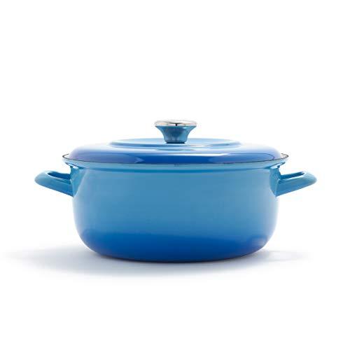 Merten & Storck German Enameled Iron 1873 Azure Blue Dutch
