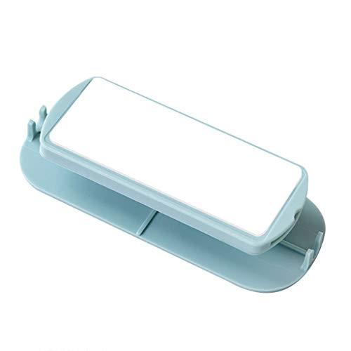 ZJL220 Adhesivo de fijación para toma de enchufe múltiple Soporte para regleta organizador de cables, fijador adhesivo para pared, almacenamiento doméstico