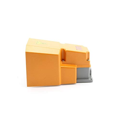 Botón Interruptor de pie de Aluminio LTH / 1/6 TFS-502 Máquina de Interruptor de pie Impermeable Accesorios de Herramientas Punto de Plata