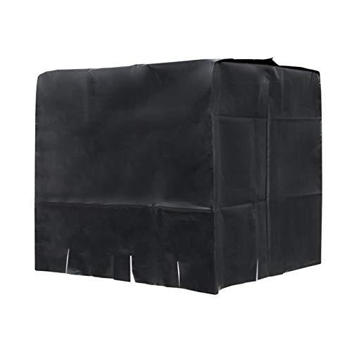 NSXIN IBC Tank Abdeckung, 1000ml IBC Cover UV-Schutz Foli UV-Folie Schutzhülle Schutzplane Schutz Haube IBC Container Regentonne Verkleidung Wassertank,120 * 100 * 116 cm