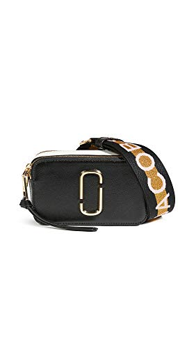 Marc Jacobs Borsa a tracolla The Snapshot Small Camera Bag nera