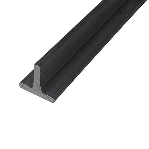 Stahl ST37, S235 T-Profil, Oberfläche blank, roh, gewalzt, Abmessung 20 x 20 x 3 mm, Länge 200 cm