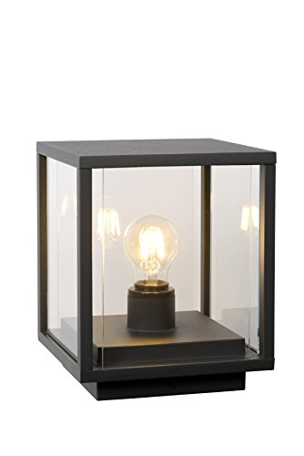 Lucide CLAIRE - bollamp buiten - E27 - IP54 - antraciet