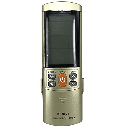 HUYANJUN, Corrente ALTERNATA Remote Fit for. LG. York. TCL. Toshiba Midea Samsung Hisense Daikin Air Conditioner KT-N828 2000 in 1 Telecomando Fernbedienung