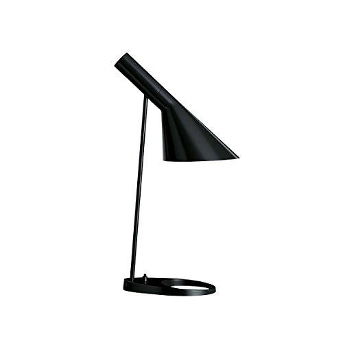 AJ Tischleuchte, schwarz lackiert BxH 21,5x56cm