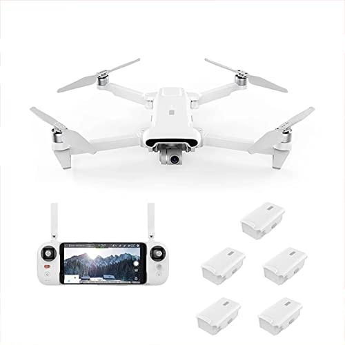 JJDSN Dron GPS con cardán 4K de 3 Ejes, Anti-vibración, 5G, FPV, Rango de transmisión de 8 km, cuadricóptero, 35 Minutos de Tiempo de Vuelo, Drones Profesionales con Motor sin escobillas para adul
