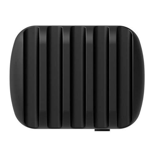 feiren Computer Peripherals - Estación de carga para escritorio inteligente USB de 40 W, 5 puertos, con soporte para teléfono y tablet (color: negro)