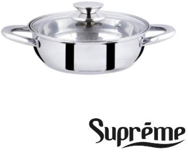 ALFA 12612 – Pfannen Pfannen Pfannen Supreme Inox 26 cm. B071F93K77 0af3fa