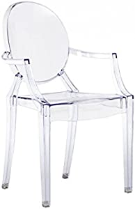 Oui Home - Sillón Estilo Louis Ghost Transparente