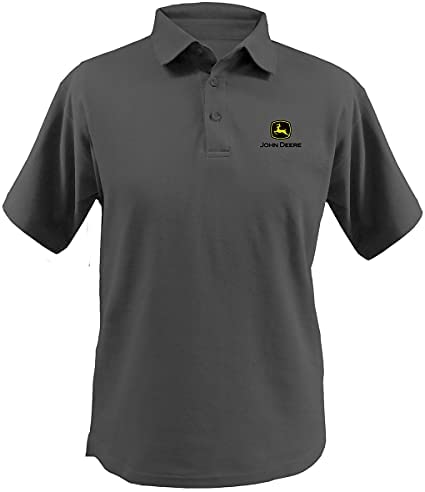 John Deere Polo Shirt /'Match/' Black