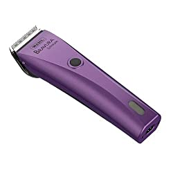 Wahl Bravura Lithium Dog Clippers in Purple.