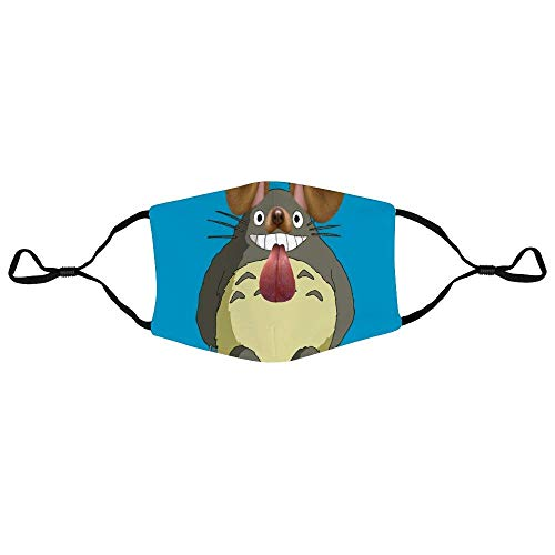 Mundschutz Studio Ghibli Totoros Dog Snapchat Filter Personalized Anti-Dust Face Scarf Mouth Cover Face Cover