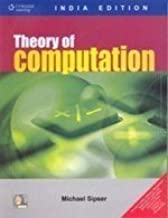 Theory of Computation (India Edition) by Michael Sipser (2008-12-01)