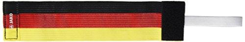 JAKO Spielführerbinde, Schwarz/Rot/Gelb, 2