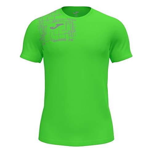 Camiseta Manga Corta Elite VIII Verde flúor