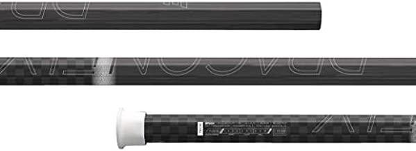 Epoch Dragonfly Elite Attack/Midfield Lacrosse Shaft Soft-Flex iQ2 Concave Carbon Black