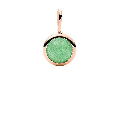 FOSSIL JF03492791 Oh So Charming Jade - Colgante para mujer, diseño de jade