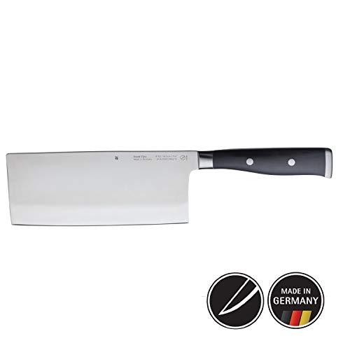 WMF Grand Class Chinesisches Kochmesser, 31,5 cm, Spezialklingenstahl, Messer geschmiedet, Performance Cut, Griff vernietet, Klinge 18,5 cm
