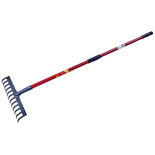 Spear /& Jackson 81208 Griffe 3 dents avec grattoir manche Bois