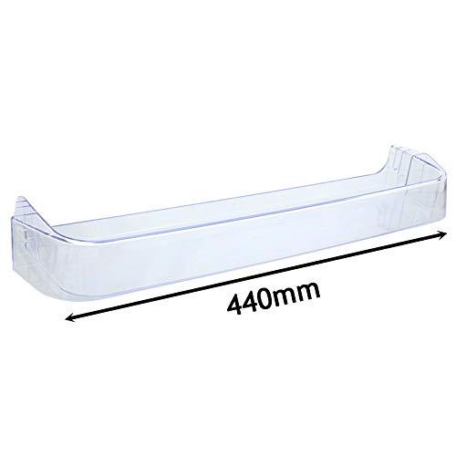 Spares2go - Bandeja para estante superior de puerta para frigorífico y congelador Zanussi (440 mm)