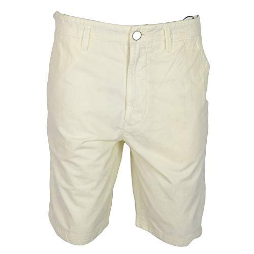 """Stone Island - Pantaloncini in cotone, colore: Bianco bianco 33"""""""