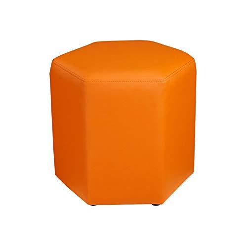 Reposapiés para cambiar, taburete y sofá, taburete hexagonal, reposo para estudiantes, mesa de centro (color: #5)