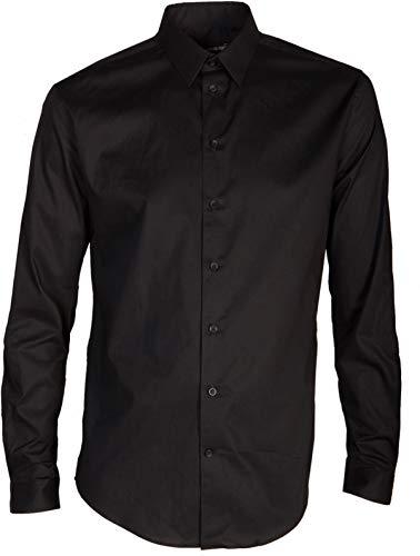 Drykorn Herren Hemd Maris schwarz 41 / M