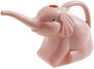 KINGZHUO Plastic Elephant Watering Can Kids Children Toy Cute Garden Watering Tool (Pink)