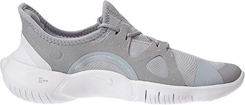 Nike Women's Free RN 5.0 Running Shoe, Wolf Grey/White/Pure Platinum, 8.5