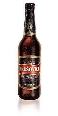 20 Flaschen Krusovice Cerne Tschechisch Bier 0,5L dunkel inc. 1.60€ MEHRWEG Pfand 3,8% vol.