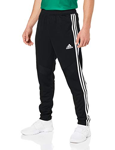 adidas Herren TIRO19 TR PNT Sport Trousers, Black/White, XL