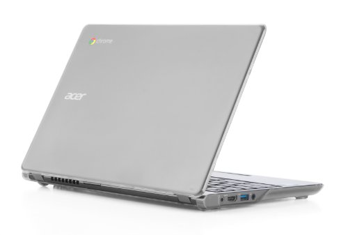 mCover Hartschalen-Schutzhülle für Acer Chromebook 39,6 cm (15.6 Zoll) nur für CB515 Serie (nicht kompatibel mit älteren C910/CB5-571/CB3-531-Modellen) transparent durchsichtig 11.6
