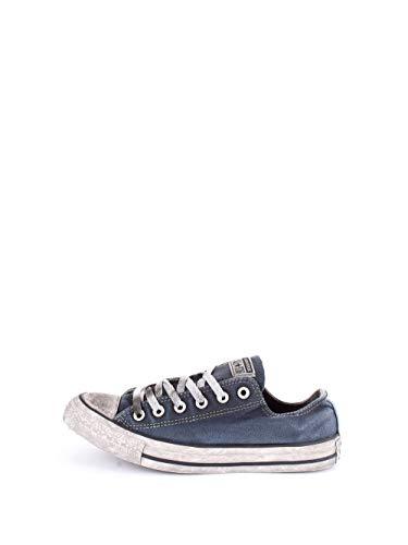 Converse Sneakers Uomo CTAS Canvas LTD OX 156893C Blu Navy Limited Edition SS 18 39
